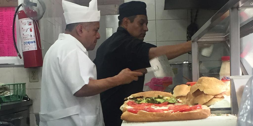 Mexican Torta